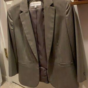 Spring/summer light tweed suit jacket